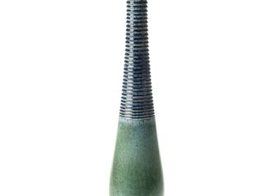 Céramique -  Grand vase bleu impérial - S.BERNARDO