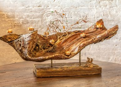 Decorative objects -  Wooden artwork Varan - ALEXANDER CHEGLAKOV