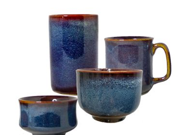 Ceramic - Bowls, Mugs & Accessories Ocean Blue - ZAOZAM