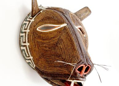 Decorative objects - Toothy Bear Embera Mask - RAINFOREST BASKETS
