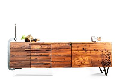 Sideboards - Yours Truly Collection sideboard, shoe rack - KNOCK ON WOOD