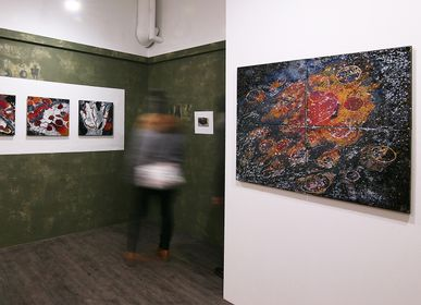 Décoration murale - Paysages dans l'esprit (4 modules) - CLAUDIA BIEHNE