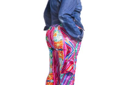 Ready-to-wear - Peruvian-themed Pants - INES MENACHO