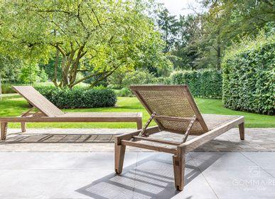 Deck chairs - Lisa sun lounger - GOMMAIRE (G. CLEYBERGH)