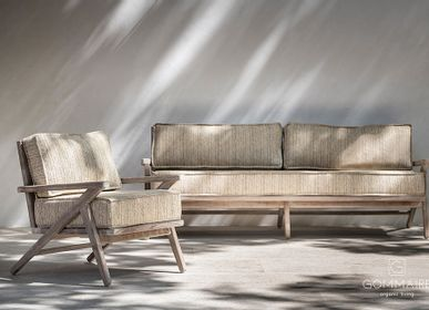 Lawn sofas   - Alabama collection - GOMMAIRE (G. CLEYBERGH)