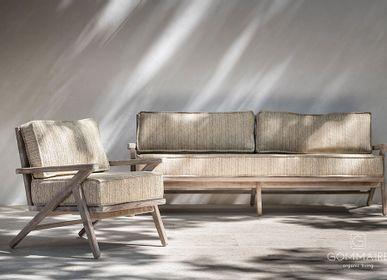 Canapés de jardin - Collection Alabama - GOMMAIRE (G. CLEYBERGH)