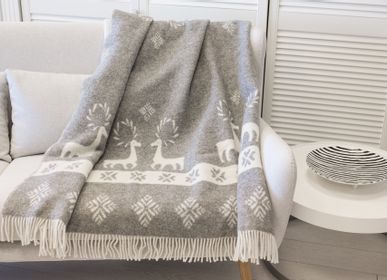 Throw blankets - Wool blanket - NORD DECO