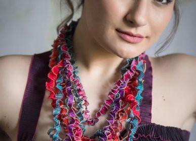 Bijoux - Collier Tourbillon Textil - ATELIER DU REQUISTA