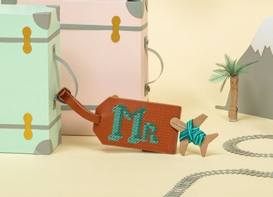 Accessoire de voyage / valise - Stitch Luggage tag  - CHASING THREADS