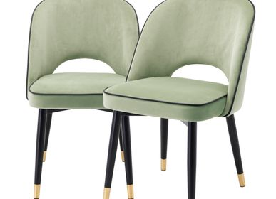 Chairs - DINING CHAIR CLIFF SET OF 2 - EICHHOLTZ