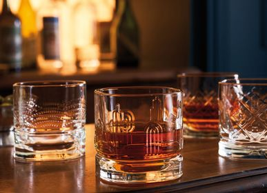 Glass - Set of 4 whisky tumblers - LA ROCHÈRE