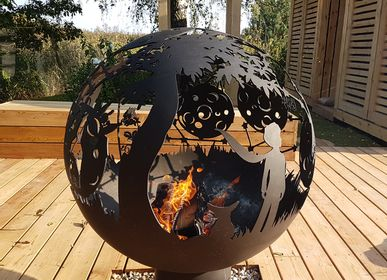 Outdoor fireplaces - Little Prince / Fire pit orb - FIRECUP