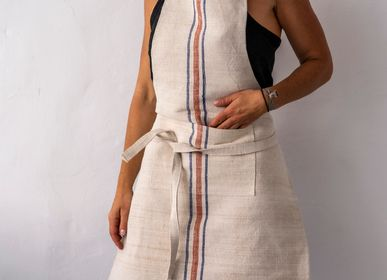 Table linen - Apron: Full style, vintage handwoven Hungarian hemp - LINEAGE BOTANICA - THE ART OF WELLBEING