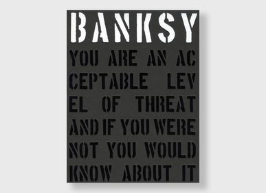 Accessoires de déco - Banksy – You are an acceptable level of threat | Livre - NEW MAGS