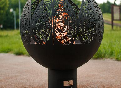 Outdoor fireplaces - Flower / Fire pit orb - FIRECUP