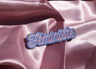 Customizable objects - Feminist iron-on embroidery - MALICIEUSE