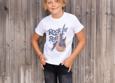 Mode enfantine - TSHIRT KIDS GUITARE - FABULOUS ISLAND LTD