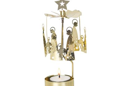 Decorative objects - ROTARY CANDLE HOLDER CRIB FAMILY - PLUTO PRODUKTER