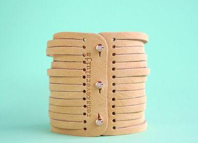 Bijoux - Bracelet en cuir - RENSKE VERSLUIJS