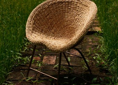Armchairs - WATER WEED : water hyacinth - SUMPHAT