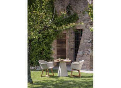 Fauteuils de jardin - Dining armchair Gipsy - GIPS4321 - IL GIARDINO DI LEGNO