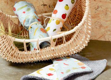 Dish towels - Vegetable and Fruit Microfibre Tea Towel - AMADEUS
