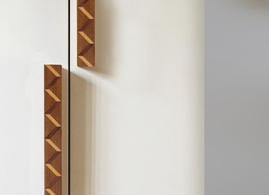 Wardrobe - Handles in Sadeli Marquetry - BAAYA GLOBAL
