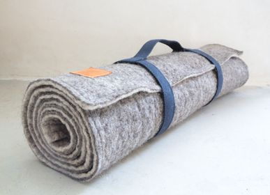 Gym and Fitness - Wool felt relaxation mat - HL- HELOISE LEVIEUX