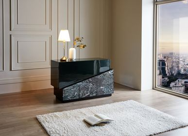 Work stations - OBLIQUE_H02, Mother-of-Pearl Deep Green Drawer - ARIJIAN