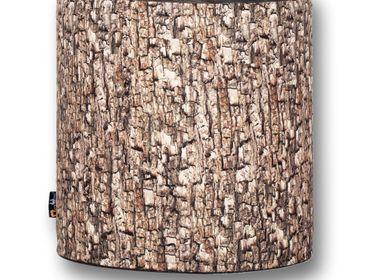 Poufs - Repose-pieds en bois de MeroWings - MEROWINGS
