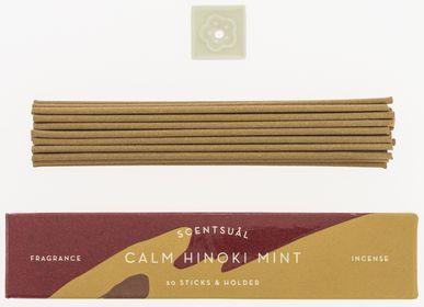 Home fragrances - Scentsuål Hinoki Mint - Nippon Kodo Japanese Incense - TIERRA ZEN