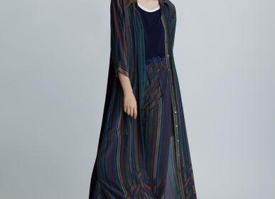 Ready-to-wear - Multicolor Issan Maxi Shirt Dress - ATELIER PICHITA