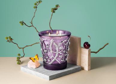 Decorative objects - ÉPINES EDITION PLATINE, CRYSTAL SCENTED CANDLE - LALIQUE VOYAGE DE PARFUMEUR