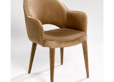 Loungechairs for hospitalities & contracts - ARM CHAIR MC-8980CH-A - CRISAL DECORACIÓN