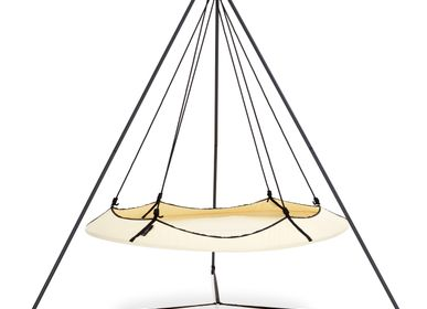 Seats - Cream and Black Hangout Pod Set - HANGOUT POD