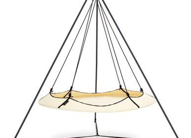 Tables de réunion - Pod Hangout Set de 1,8 m Crème & Noir - HANGOUT POD