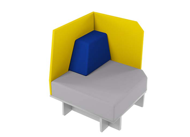 Small sofas - Modular sofa D3 - ZEBRANO