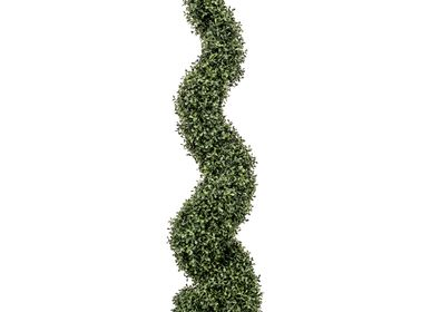 Garden accessories - UV-Collection Boxwood Mini Leaf Spiral 120cm - EMERALD ETERNAL GREEN BV