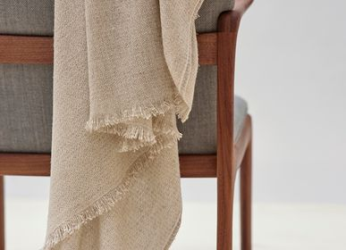 Decorative objects - Blanket throw Nébula Gris - TEIXIDORS
