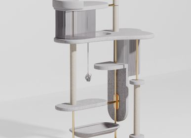 Pet accessories - Modern Cat Tree - MURR AND WOOF