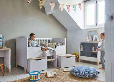 Children's bedrooms - Adjustable baby cot ELIOTT - GALIPETTE