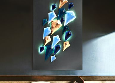 Other wall decoration - Kite Mural in Enamelled Copper - BAAYA GLOBAL