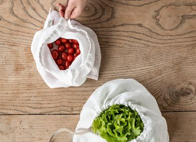 Kitchen utensils - SET OF TWO ZERO WASTE LINEN PRODUCE BAGS - MAGIC LINEN