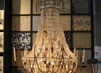 "Floor lamps - ""Key"" candleholder - MERCI LOUIS"