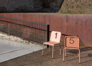 Lawn armchairs - NUMBERS Collection - ISIMAR
