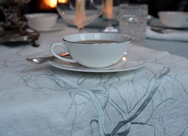 Kitchen fabrics - Table runner FOREST - ARTIPARIS