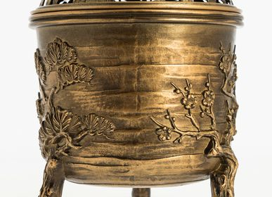 Artistic hardware - Matsu Takaoka incense burner - TIERRA ZEN