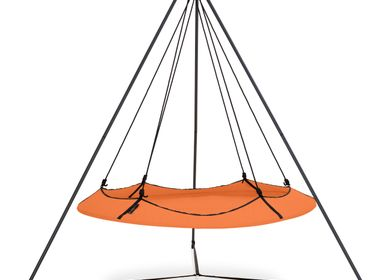 Chairs for hospitalities & contracts - Tangerine Hangout Pod Set  - HANGOUT POD