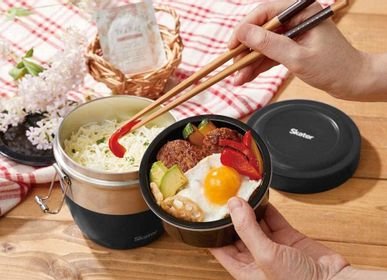 Children's mealtime - VACCUM STAINLESS DONBURI LUNCH BOX - THE SKATER CO.,LTD.