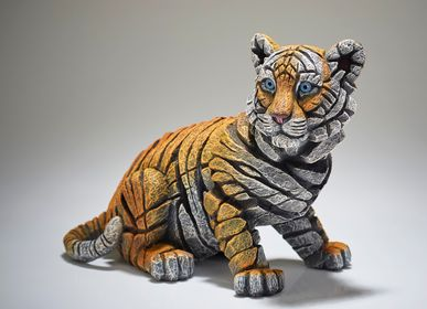 Sculptures, statuettes and miniatures - Tiger Cub - Edge Sculpture - EDGE SCULPTURE